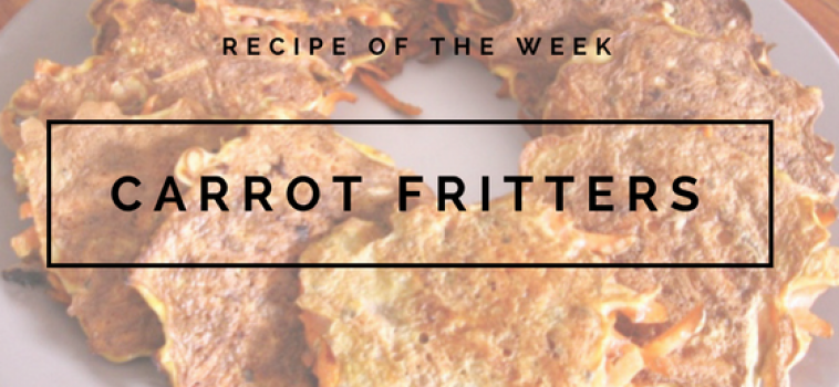 Recipe: High Protein Carrot Fritters